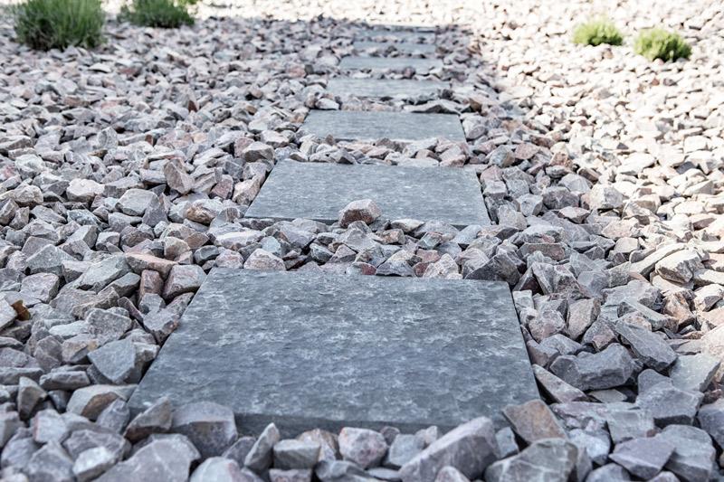 Gehweg Naturstein